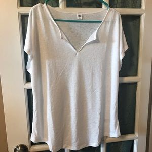 White T-shirt. Old navy